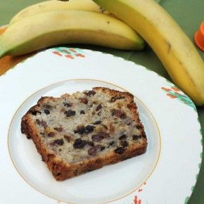 Recipe for heirloom banana bread and a few notes about camping with kids.