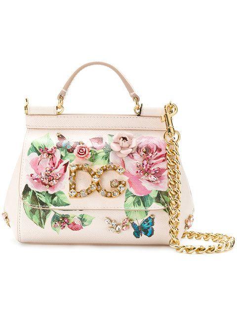 Ladies Designer Check Print Patterned Crossbody Chain Messenger Shoulder Bag