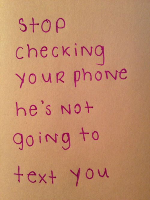 Stop Texting Let