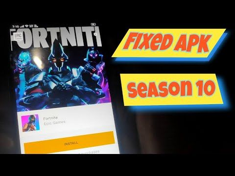 Play Fortnite Android On Incompatible Devices Season X Umirtech Fortnite Seasons Games To Play