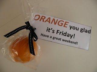orange you glad it's Friday?