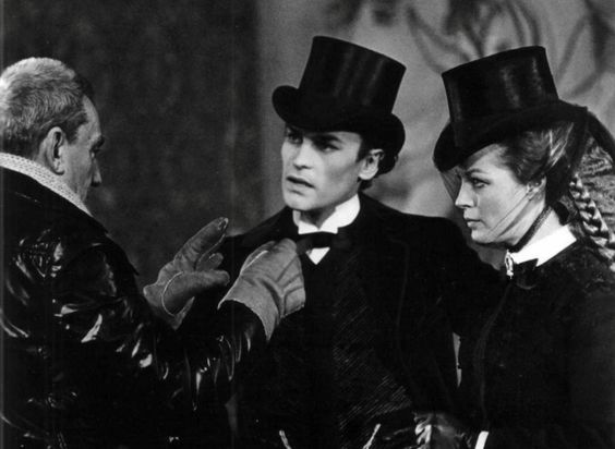 Luchino Visconti & Romy Schneider & Helmut Berger • in Ludwig 1972