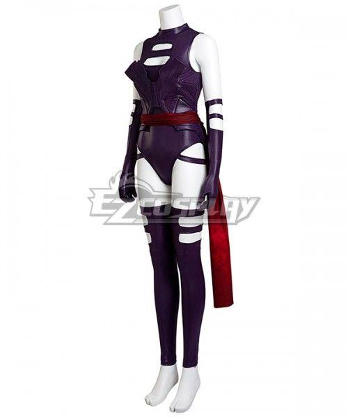"Apocalypse Psylocke Elizabeth /""Betsy/"" Braddock Cosplay Costume Halloween X-Men"