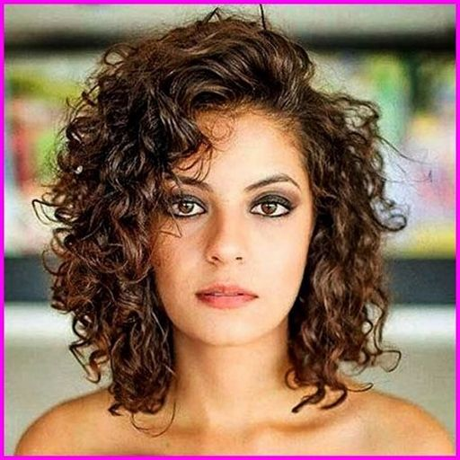 Best Short Haircuts For Curly Hair Round Face 2019 Naturalcurlyhair Wavy Haircuts Curly Hair Styles Hair Styles