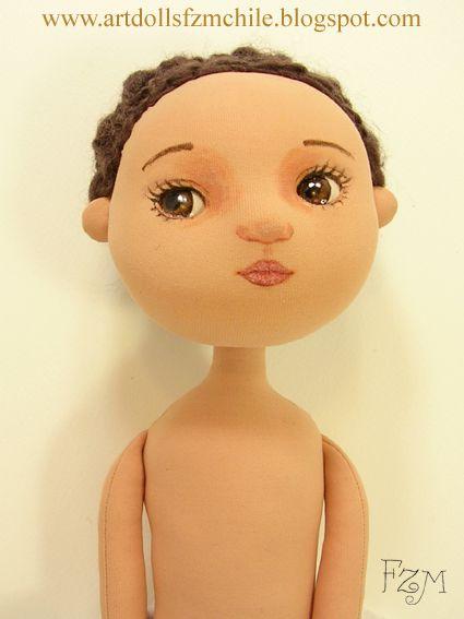 Proceso de confección de muñeca also find articulated armature video in blog