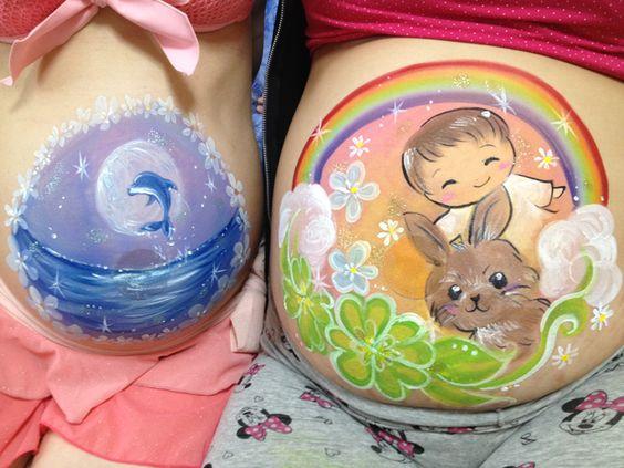 頃有る野得:>>> 【祈願】元気な赤ちゃんを願い妊婦のおなかに絵を描く「ベリーペイント」、ボディーペイントと合わせれば、よりアーティスティックに ... http://blog.livedoor.jp/mi4n4n/archives/19440216.html#more