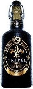 Cerveja Baden Baden Tripel, estilo Belgian Tripel, produzida por Baden Baden, Brasil. 14% ABV de álcool.