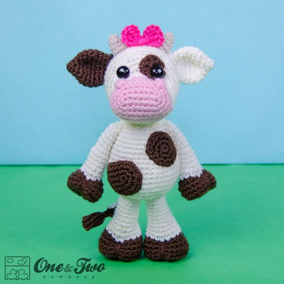 Amigurumi Easter Patterns Free : Doris the Cow amigurumi pattern by One and Two Company ...
