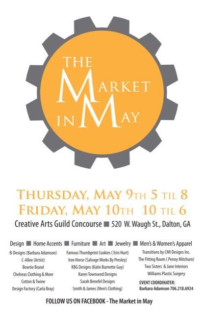 The Market in May/ Dalton GA