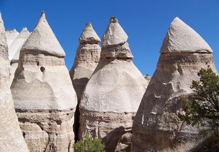 Jemez Volcanic Eruptions | Kasha Katuwe Tent Rocks