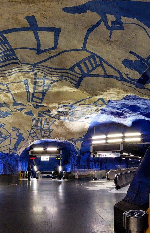 Metro - Stockholm, Sweden