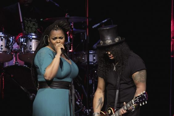 Jill Scott And Slash | GRAMMY.com