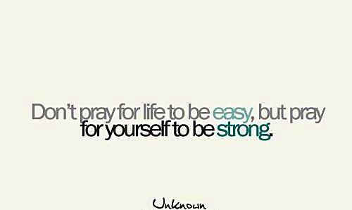 Keep going no matter what!