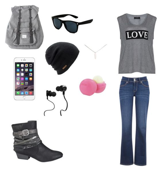 """""""What i'm wearing tomorrow."""" by livelaughlovefashions-19 ❤ liked on Polyvore featuring Carmakoma, Levi's, maurices, Herschel, Coal, Monster, Wet Seal and Eos"""