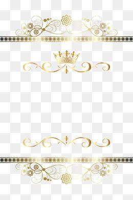 Moldura Png Images Vetores E Arquivos Psd Download Gratis Em Pngtree Frame Clipart Hindu Wedding Cards Gold Pattern