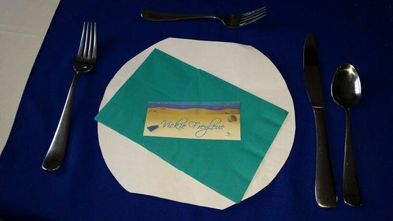 Mock place setting