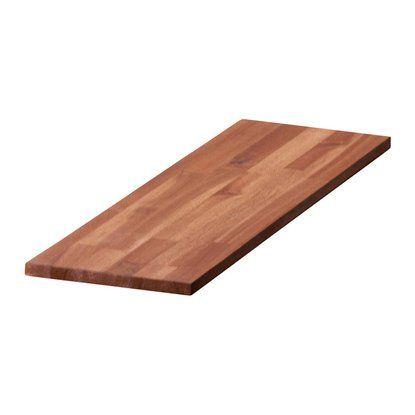 Glued Wood Acacia Oiled 120 Cm X 20 Cm X 1 8 Cm Mit Bildern Holz Leimholz Obi