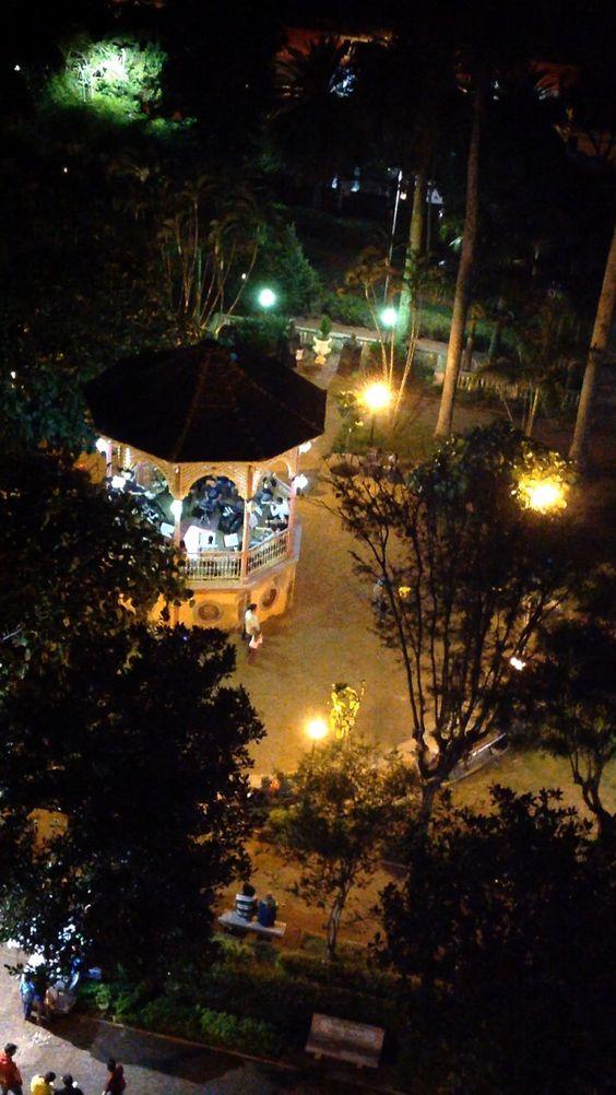 Coreto em São Manuel-SP, Brasil.
