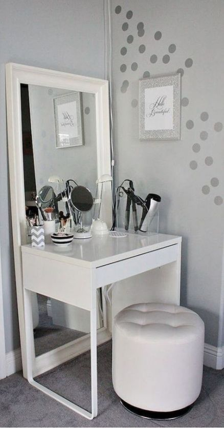 Makeup Vanity Ideas Bedrooms Make Up Desks 16+ Super Ideas ...