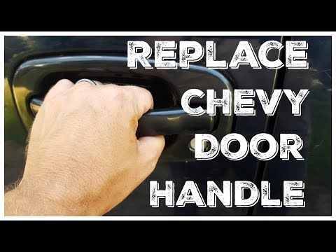 How To Replace An Exterior Door Handle Chevy Avalanche Chevy Gmc Trucks 1999 2006 Youtube Gmc Trucks Trucks Gmc
