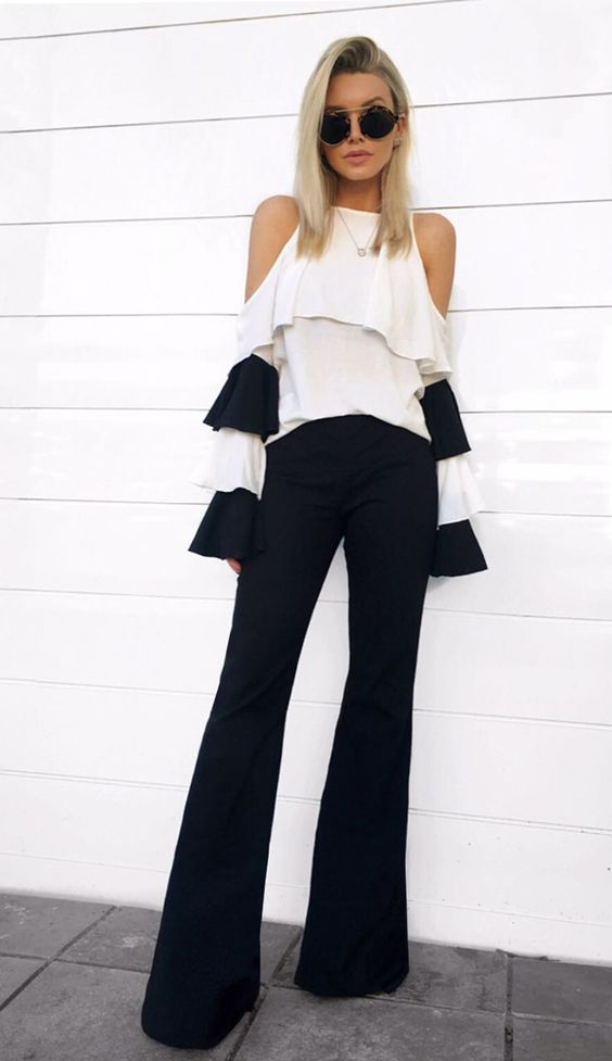 CALÇA DETALHE PALA FRENTE - CAL24200-03 | Skazi, Moda feminina, roupa casual, vestidos, saias, mulher moderna