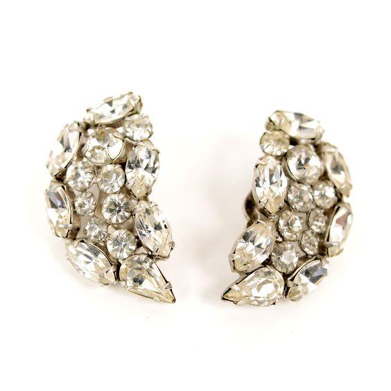 Fab.com | Carnegie Rhinestone Earrings