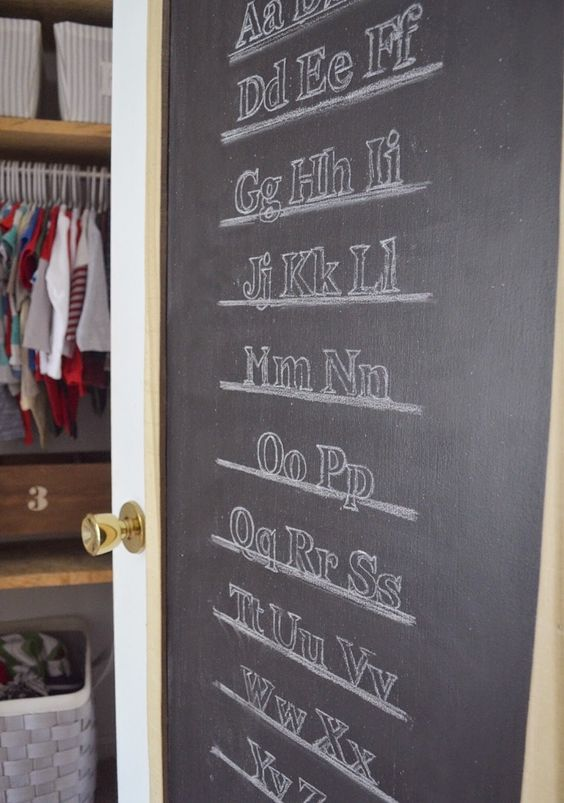How to makeover an ugly hollow-core door in our latest nursery reveal!