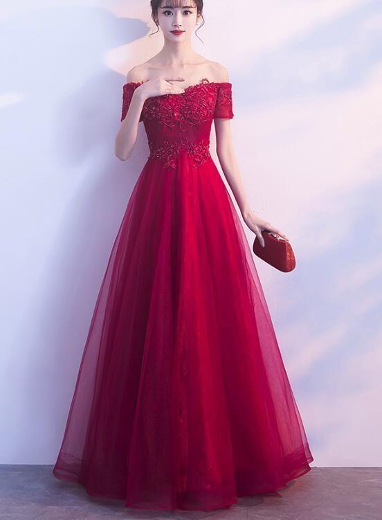 off shoulder elegant dresses for teenagers