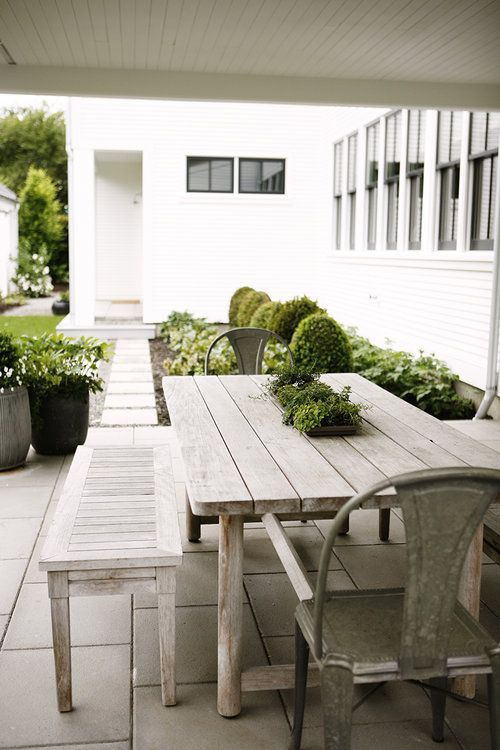 Modern Farmhouse Covered Patio Katie Hackworth Farmhouse Outdoor Furniture Farmhouse Patio Farmhouse Landscaping