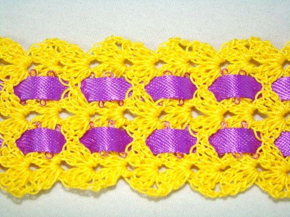 Shelled Bookmark #crochet