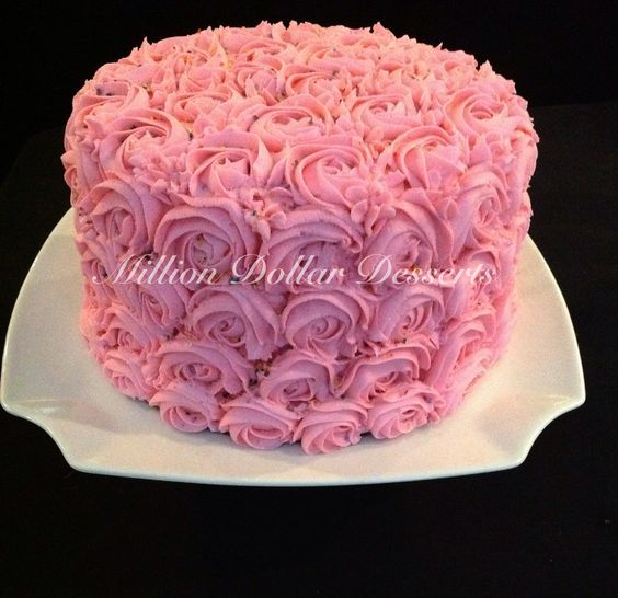 Rosette Cake My absolute favorite!!!!