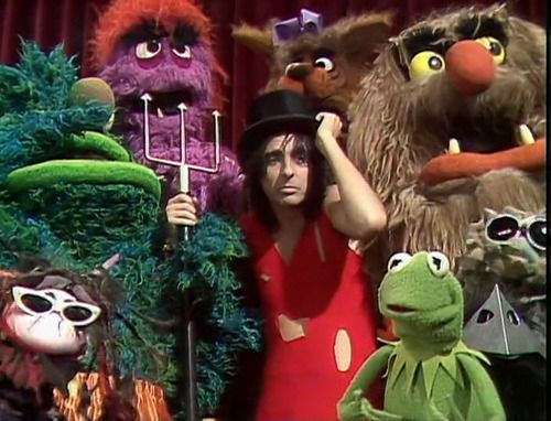 Alice Cooper on The Muppet Show