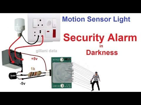 This Project Is On Smart Light Switch Which Aim Is Build A Smart Light Bulb Based On Your Motion With The Help Light Sensor Motion Sensor Motion Sensor Lights