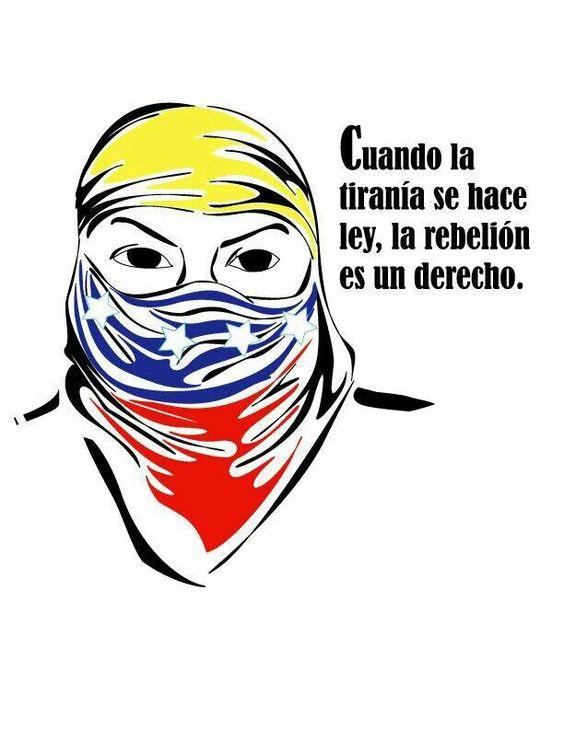 When tyranny becomes law, the rebellion is a right / Cuando la tirania se hace ley, la rebelion es un derecho