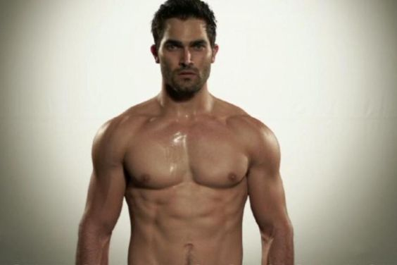 "It's no other than ""Teen Wolf"" star Tyler Hoechlin, and his girlfriend Brittany Snow could play Ana Steele. Description from coolapic.com. I searched for this on bing.com/images"