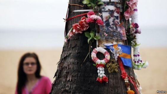 Unas 226,000 personas que muerieron durante el tsunami de 2004, son recordadas en el décimo aniversario de la catástrofe.