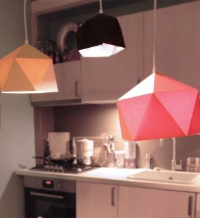 Une suspension en origami meubles et objets pure sweet for Meuble sweet home