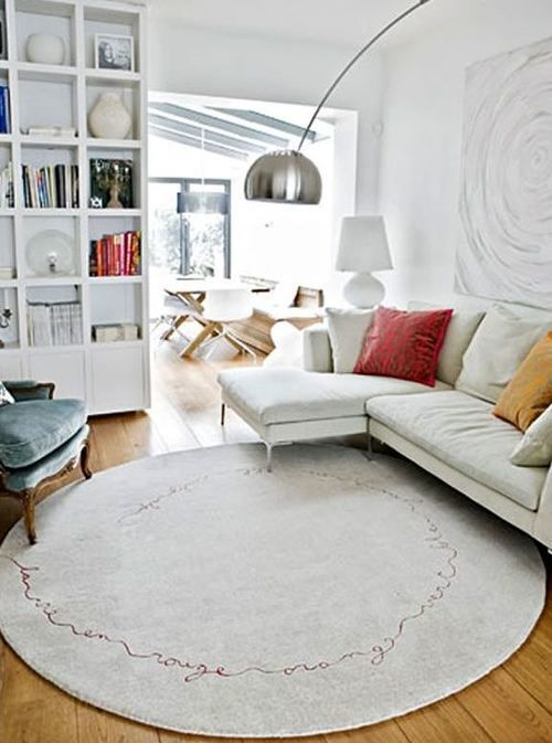 Does The Space In Your Home Use Rug Well Attempt To Notice Definitely The Environment Of Your S Round Rug Living Room Living Room Carpet Rugs In Living Room