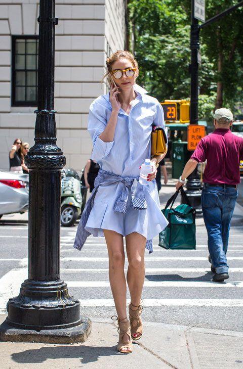 10 prendas para copiar el 'look' de primavera de Olivia Palermo - La 'socialité' e 'it girl' da las claves para...: