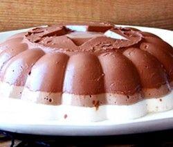 pudim de chocolate com cottage dukan