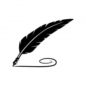 Writing Pen Writing Clipart Line Ink Png Transparent Clipart Image And Psd File For Free Download Vector Logo Design Feather Logo Writing Icon