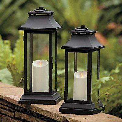 Luminara Lantern Outdoor Lighting Pinterest Indoor