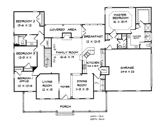 Burgess hill country ranch home home house plans and floors for Hill country ranch house plans