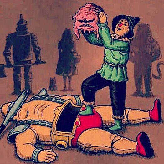 If I Only Had A Krang... Wizard Of Oz meets Teenage Mutant Ninja Turtles #nerdist