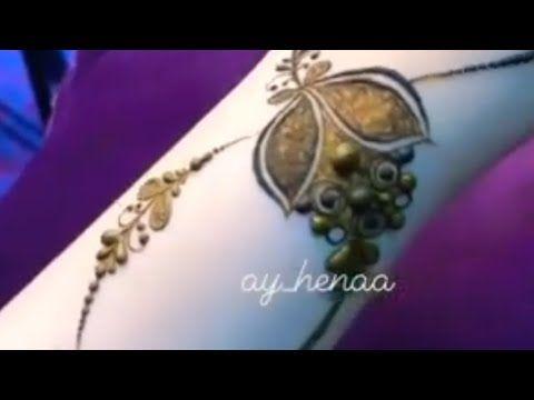روعه الابداع في نقش الحناء Henna Youtube Henna
