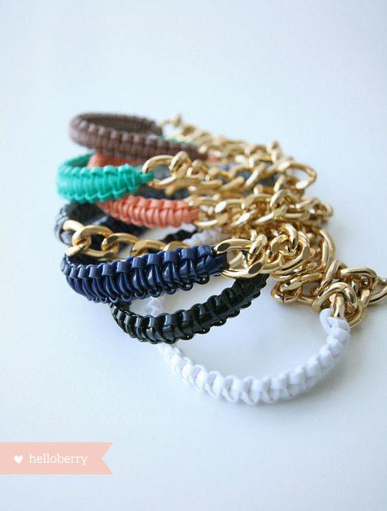 helloberry Bracelet: Mini Smoothies (Listing for ONE bracelet). $14.75, via Etsy.