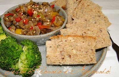 Tested, Tasted and Approved: antipasto of eggplant