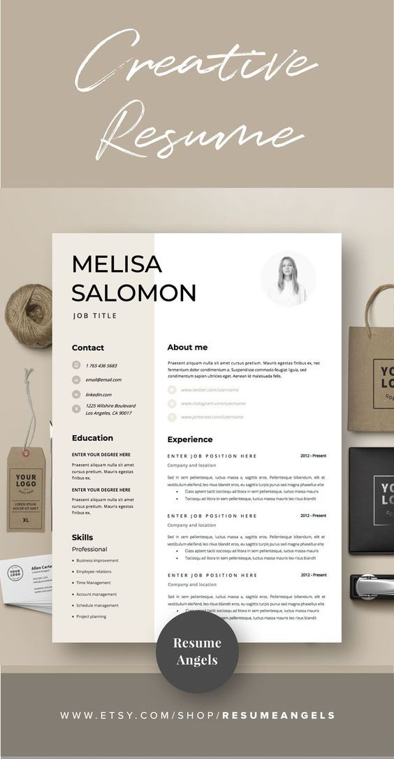12 Professional Ms Word Resume Template For Best Price Resume Etsy In 2021 Resume Design Template Resume Design Creative Professional Resume Examples