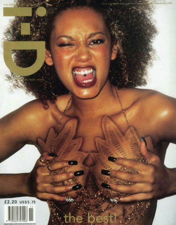 Scary Spice for i-D Magazine