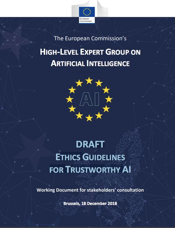 Ethics Guidelines For Trustworthy Artificial Intelligence. - Buscar con Google